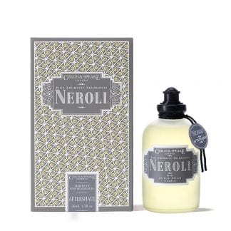 neroli aftershave shaker 50ml bottle and box by czech & speake